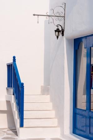 vintage ladder in Greek style