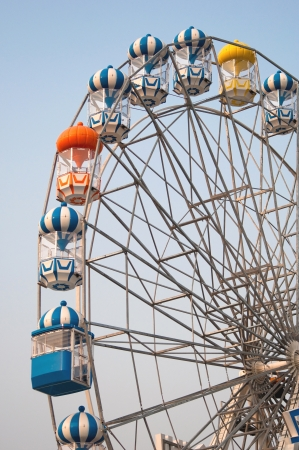 colorful of Ferris wheel photo