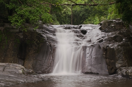 pa la-u waterfall,in Kang Krachan national park Thailand Stock Photo - 14387361