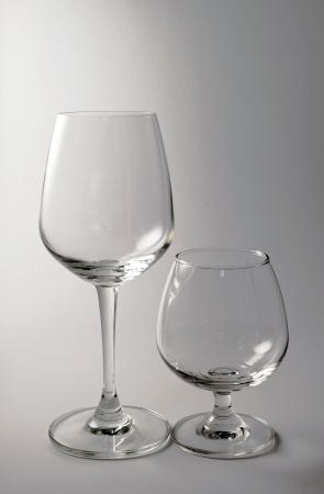 whisky glass on white background photo