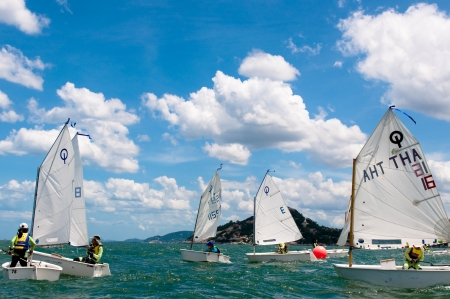 Hua Hin Regatta 2012, sailing competition