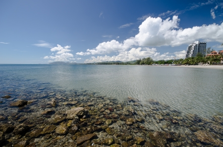 hin hua: beautiful Hua Hin beach in Thailand