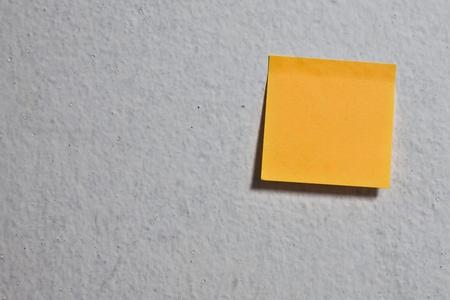 Orange memo