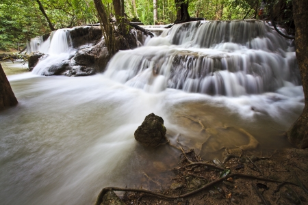 Waterfall in Kanchanaburi photo