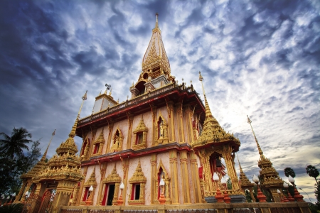 ecclesiastical: Wat Chalong Temple in Phuket