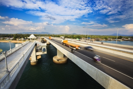 Sarasin Bridge Stock Photo - 17632294