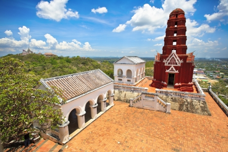Wat Phra Kaew in Khao Wang Phra Nakhon Khiri Historical Park