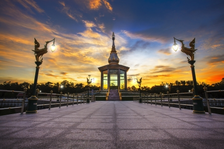 Prachakomwanaram Temple Stock Photo
