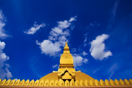 Golden Stupa in Grand Palace, Thailand Editorial