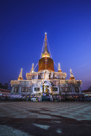 mahasarakham: Phra That Na Dun at Maha Sarakham in Thailand