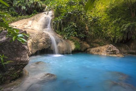 lofty: Erawan Waterfall Stock Photo