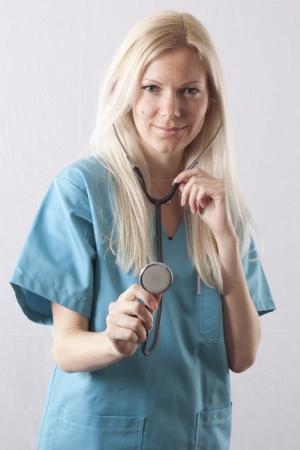 Pretty surgeon Stock Photo - 14958354
