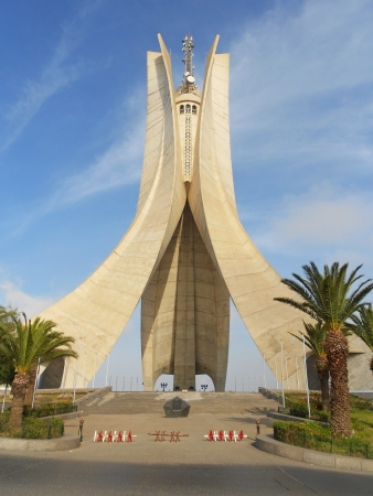 Monument des martyrs - Monument of martyrs victims from Algerian liberation revolution Stock Photo - 15023067