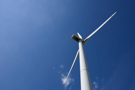 Wind turbine give renewable energy sustainable energy alternative energy.