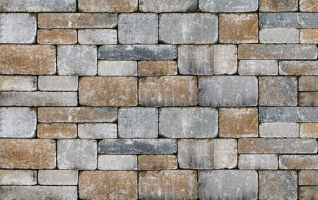 Close up photo of a stone wall, architectural background 版權商用圖片