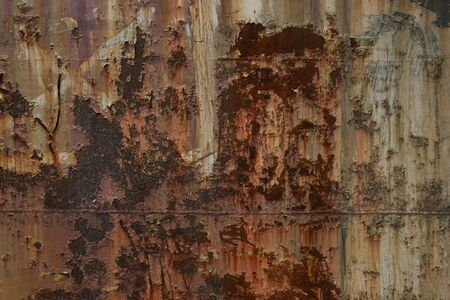 Rusty metal textured, old metal iron rust background and texture