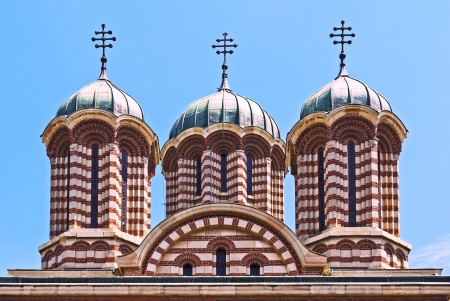 Orthodox cathedral domes
