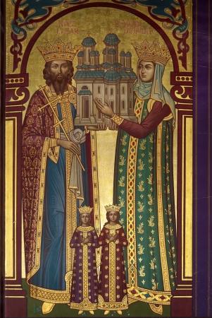 Orthodox church painting Stock Photo - 16020464