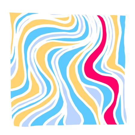 Zen tangle pattern  Hand drawn mosaic illustrations - vector