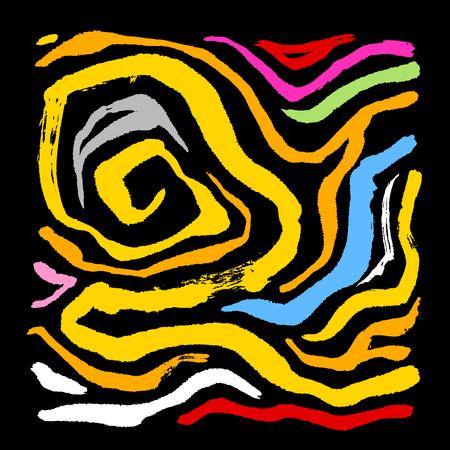 Zebra print, hand drawn pattern vector illustrations.
