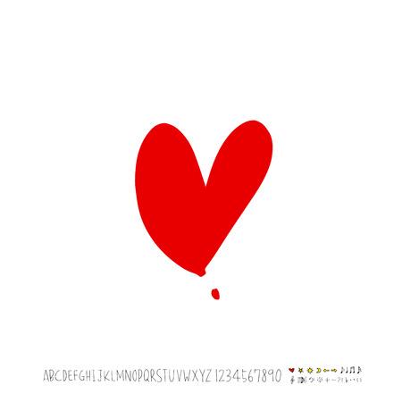 Heart pattern image