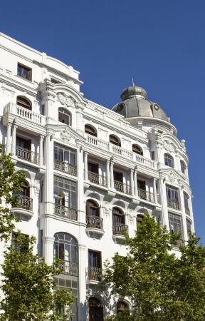 Madrid Classic building next to Retiro Park
