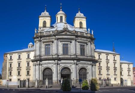 grande: Real Basilica de San Francisco el Grande at Madrid Stock Photo
