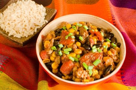 turtle bean: Chili con carne