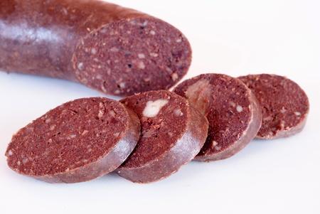 Blood sausage                    Stockfoto