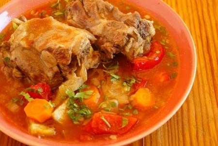 Oxtail soup                Stockfoto