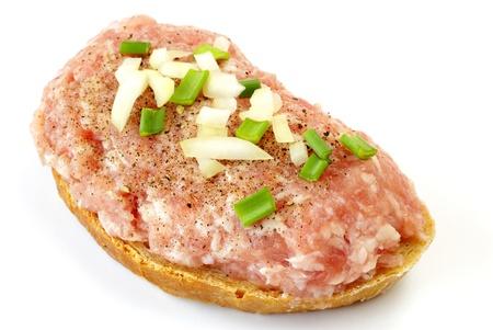 Mettwurst sandwich Stockfoto - 15087873
