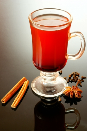 mulled: Mulled beer         Stock Photo