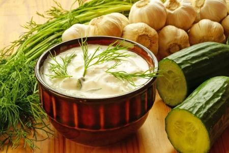 Sauce Tatziki Banque d'images - 15087849