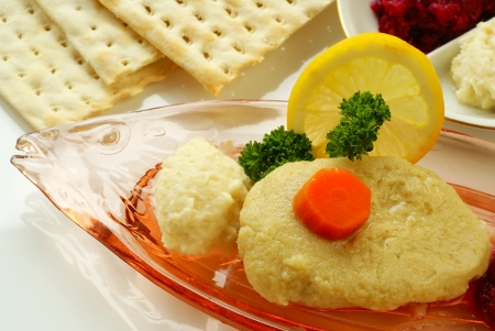 jewish cuisine: Gefilte fish