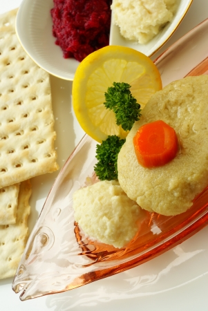 Gefilte fish Stockfoto - 15087954