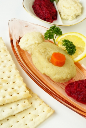 Gefilte fish                   photo
