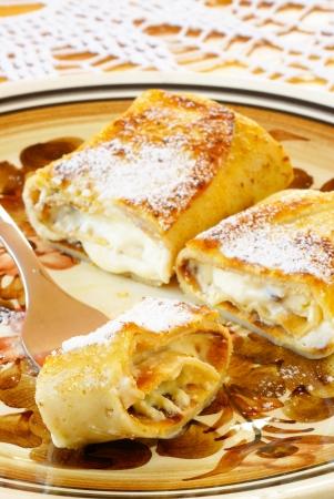 jewish cuisine: Blintzes (cheese pancakes)