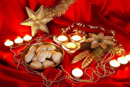Kerst tafel Stockfoto - 16415882