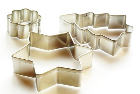 cookie cutter: Christmas cookies cutters              Stock Photo