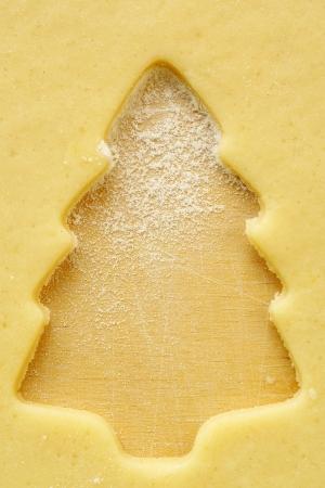 Voorbereiden kerstkoekjes Stockfoto - 16415965