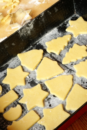 Voorbereiden kerstkoekjes