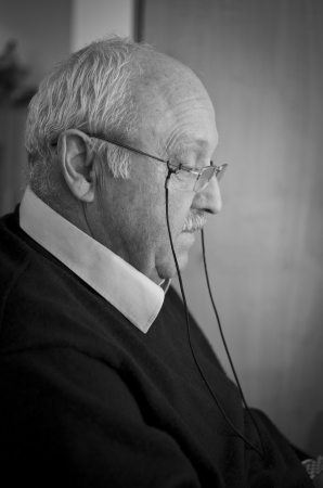 Senior man Stockfoto
