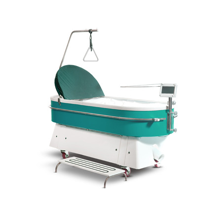 Medical suspended bed for burns and pressure sores. Medical Equipment.