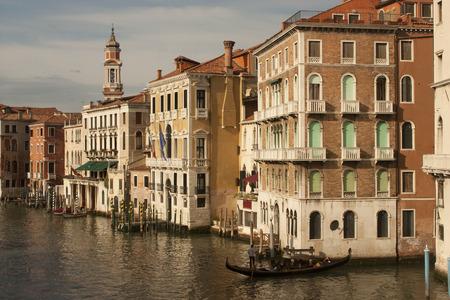 venice: Buildings in venice, italy Stock Photo