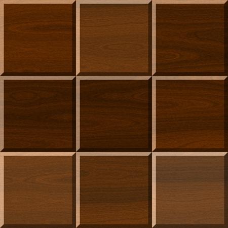 flooring: Seamless brown illustration of wooden parquet flooring Stock Photo