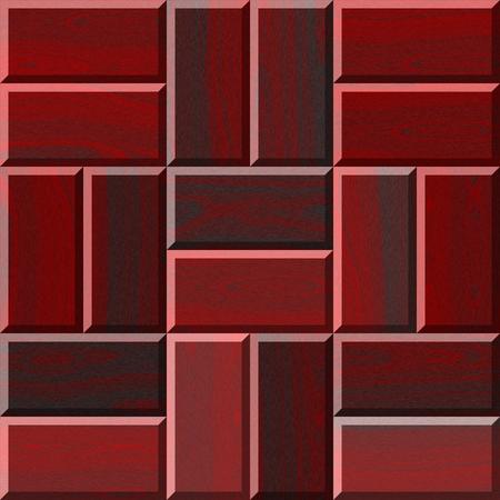 flooring: Seamless red illustration of wooden parquet flooring