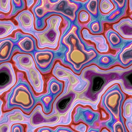 mingled: Illustration of abstract background with many colorful spots