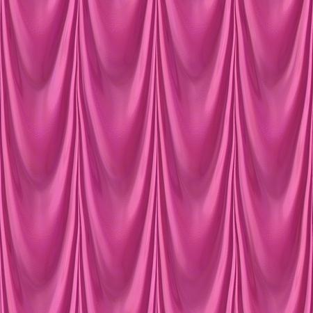 texture drapery: Illustration pattern of seamless pink drapery texture
