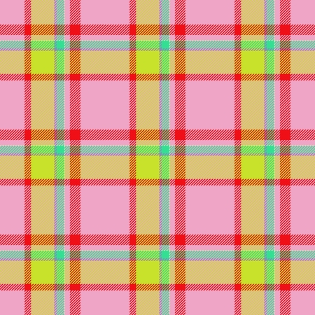 strip structure: Seamless traditional Scottish colourful tartan fabric  cloth background or texture