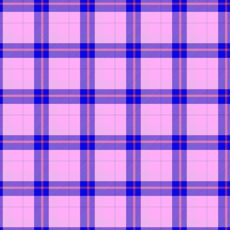 Seamless traditional Scottish colourful tartan fabric  cloth background or texture